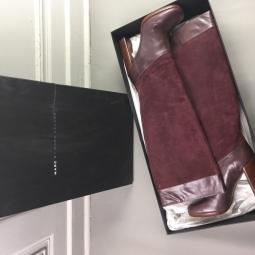 bottes marc jacobs dans leur boite bottes neuves